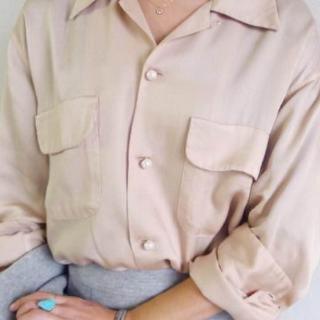 マディソンブルー(MADISONBLUE)のマディソンブルー  PARQS限定 パールボタン シャツ(シャツ/ブラウス(長袖/七分))