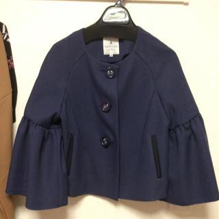 ランバンオンブルー(LANVIN en Bleu)の試着のみ💕ランバンオンブルー💕可愛いショート丈のコート♪(スプリングコート)