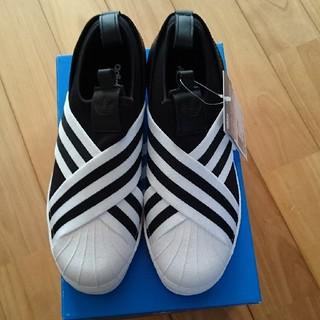 アディダス(adidas)のアディダス スリッポン 24センチ(スリッポン/モカシン)