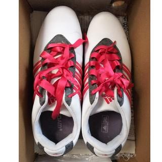 アディダス(adidas)の☆23.5☆ゴルフシューズ☆レディース☆アディダス☆(シューズ)