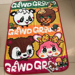 グラグラ(GrandGround)のグラグラ  ひざ掛け ブランケット ひざかけ 毛布 ミニ毛布 ベビー毛布(おくるみ/ブランケット)