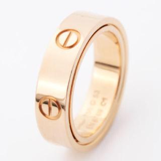 カルティエ(Cartier)のカルティエ ミニラブリング ピンクゴールド(リング(指輪))