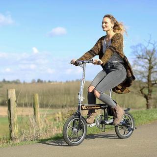 パナソニック(Panasonic)のAirwheel R5 簡単 折りたたみ自転車 16インチ 電動自転車(その他)