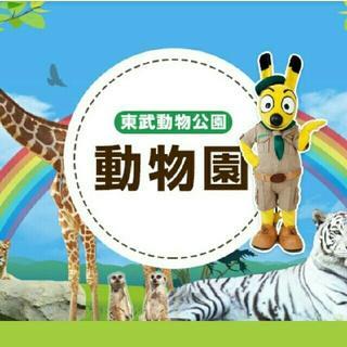 3枚 東武動物公園  フリーパス  (中学生以上)(動物園)