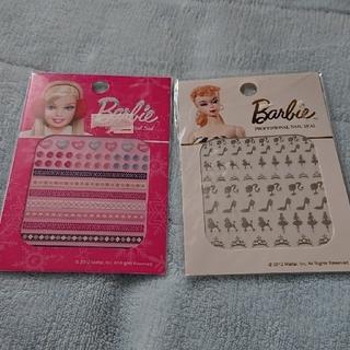 バービー(Barbie)の新品未使用☆Barbie バービーネイルシール2枚組②(ネイル用品)