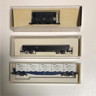 カトー(KATO`)の【美品】Nゲージ KATO (カトー) コキ10000冷 他 計9両(鉄道模型)