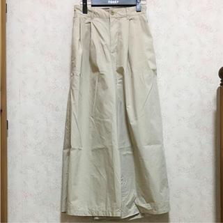 ムジルシリョウヒン(MUJI (無印良品))の無印良品 ワイドパンツ パンツ MUJI(カジュアルパンツ)