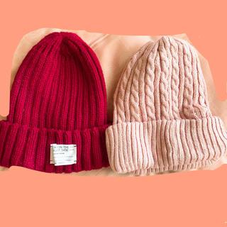 ジーユー(GU)の帽子のセット売り(ニット帽/ビーニー)