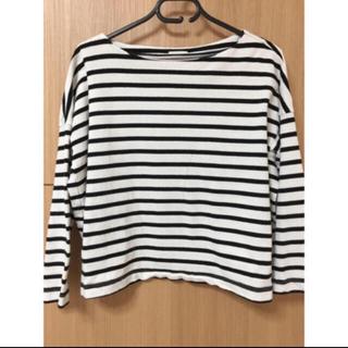 ジーユー(GU)のGU ボートネックTシャツ(Tシャツ(長袖/七分))