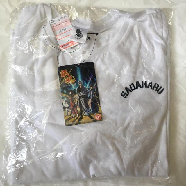 BANDAI(バンダイ)のしまむら 銀魂コラボ 《定春 Tシャツ》 レディースのトップス(Tシャツ(半袖/袖なし))の商品写真