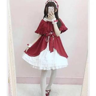 赤ずきんちゃんセットアップ♡ゆめかわいい♡to alice 好きな方に♡(衣装)
