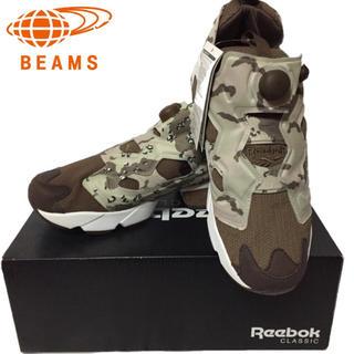 ビームス(BEAMS)のReebok (リーボック) × BEAMS 別注限定カラーINSTAPUMP(スニーカー)