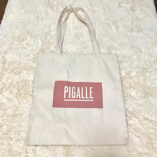 ピガール(PIGALLE)の【人気】Pigalle ピガール ナチュラルトートバッグ(トートバッグ)
