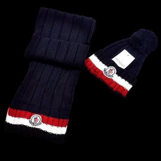MONCLER - モンクレールマフラー、ニット帽