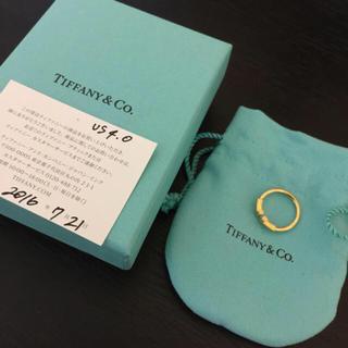 ティファニー(Tiffany & Co.)のTワイヤーリング7号(リング(指輪))