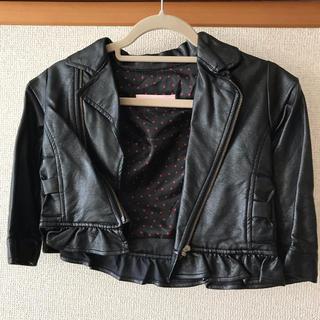 シマムラ(しまむら)の女の子 レザージャケット ライダースジャケット(ジャケット/上着)