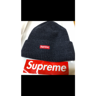 シュプリーム(Supreme)のsupreme ニット帽 ビーニー(ニット帽/ビーニー)