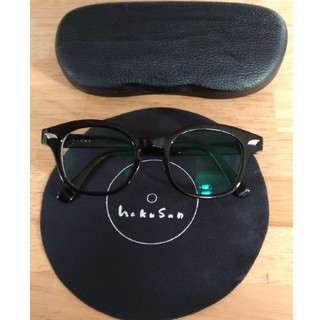 テンダーロイン(TENDERLOIN)の白山眼鏡 weeps 黒縁 眼鏡(サングラス/メガネ)