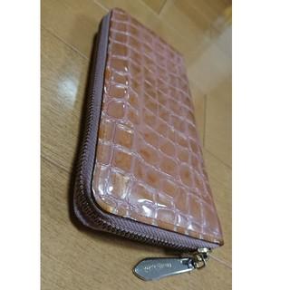 アンメートルキャレ(1metre carre)の1メートルキャレ 長財布 ピンク色 革製(財布)