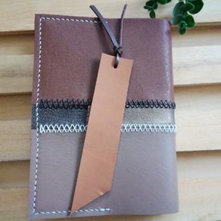 革のしおり ブラウン Bookmark(しおり/ステッカー)