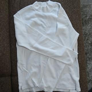 ジーユー(GU)の長袖ワッフルTシャツ(Tシャツ/カットソー(七分/長袖))