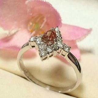 クリスマスセール♪ピンクダイヤモンドリング(リング(指輪))