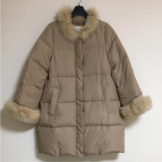 クチュールブローチ(Couture Brooch)のボンメルスリー アナトリエ 46,440円 ノーカラーのダウンコート(ダウンコート)