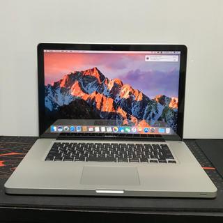 マック(Mac (Apple))の改良型 Macbook pro 15インチ 高性能(ノートPC)