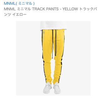 フィアオブゴッド(FEAR OF GOD)のmnml トラックパンツ yellow(ジャージ)