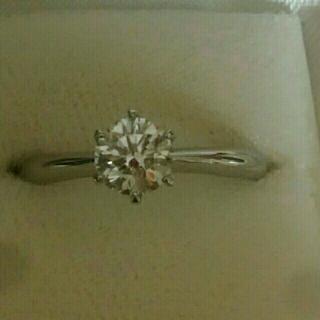 ダイヤモンドリング 0.588ct 婚約指輪(リング(指輪))