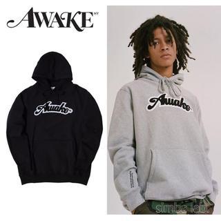 アウェイク(AWAKE)のAwake NY アウェイク 刺繍ロゴパッチ パーカー フーディー(パーカー)