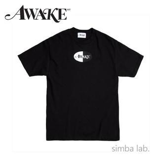アウェイク(AWAKE)のwake NY アウェイク バイカラーロゴ プリント 半袖 Tシャツ Mサイズ(Tシャツ/カットソー(半袖/袖なし))