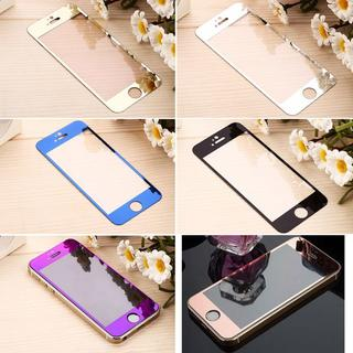 鏡面強化ガラス保護フィルム(iPhoneケース)
