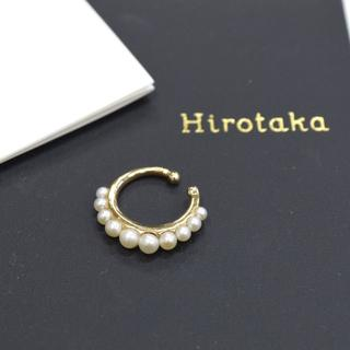 ドゥーズィエムクラス(DEUXIEME CLASSE)のHirotaka ヒロタカ 10KYG パール ラウンド イヤーカフ ゴールド(イヤーカフ)