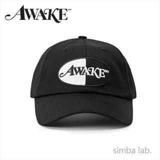 アウェイク(AWAKE)のAwake NY アウェイク Split Logo Cap ロゴパッチ キャップ(キャップ)
