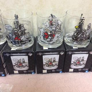 バンダイ(BANDAI)のキングダムハーツ 一番くじ グラス KH ディズニー(グラス/カップ)