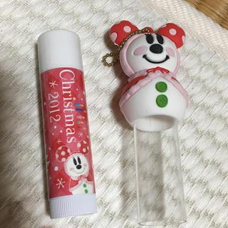 ディズニー(Disney)のミニーちゃんのリップ(リップケア/リップクリーム)