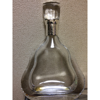 バカラ(Baccarat)のリシャール 空き瓶 バカラ製(ブランデー)