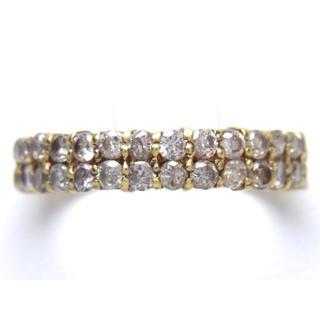 K18 1ct ダイヤモンド リング(リング(指輪))