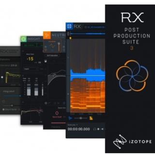 正規品 iZotope RX Post Production Suite3(ソフトウェアプラグイン)