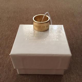 マルタンマルジェラ(Maison Martin Margiela)のM新品47%off マルジェラ ナンバリング ロゴ リング 17AW(リング(指輪))