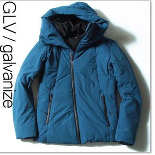 ガルヴァナイズ(Galvanize)の新品 galvanize 青 M ボリュームネックダウン(ダウンジャケット)