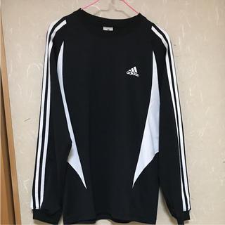 アディダス(adidas)の【美品】adidas ロングTシャツ アディダス(Tシャツ/カットソー(七分/長袖))