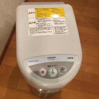 ヒタチ(日立)の中古品 HITACHI 生ゴミ処理機 ECO-VS30(生ごみ処理機)