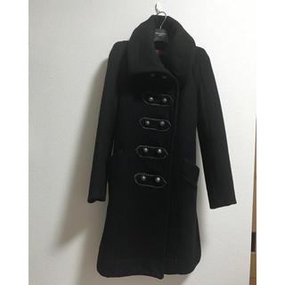 アゴストショップ(AGOSTO SHOP)のアゴスト コート ブラック(ロングコート)