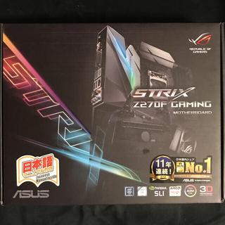 エイスース(ASUS)のASUS Z270F LGA1151 ATXマザーボード(PCパーツ)