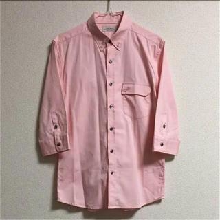 イチミリ(ichi-miri)のICHI-MIRI イチミリ 七分袖 シャツ ピンク 2(シャツ)