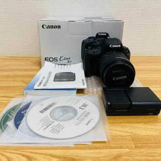 キヤノン(Canon)の【一眼レフ】EOS KISS X7 EF-S 18-55 IS STM Kit(デジタル一眼)