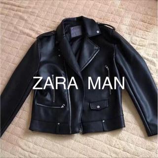 ザラ(ZARA)のZARA MAN ライダーズジャケット (ライダースジャケット)