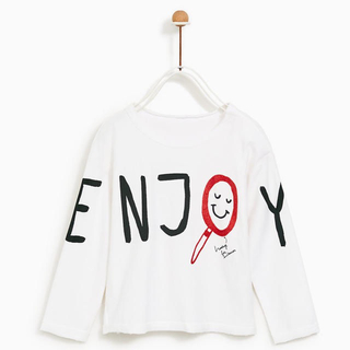 ザラ(ZARA)のzara babyboy 長袖Tシャツ(Tシャツ/カットソー)